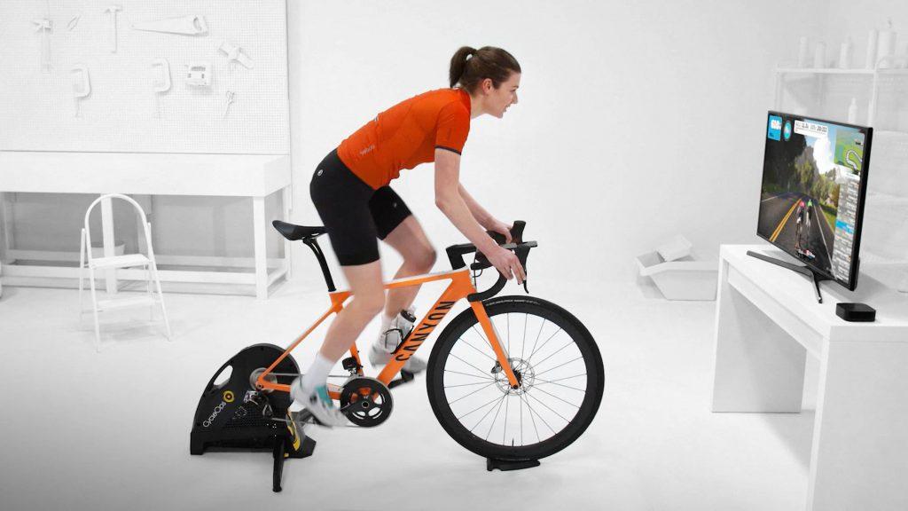 treino ciclismo indoor zwift