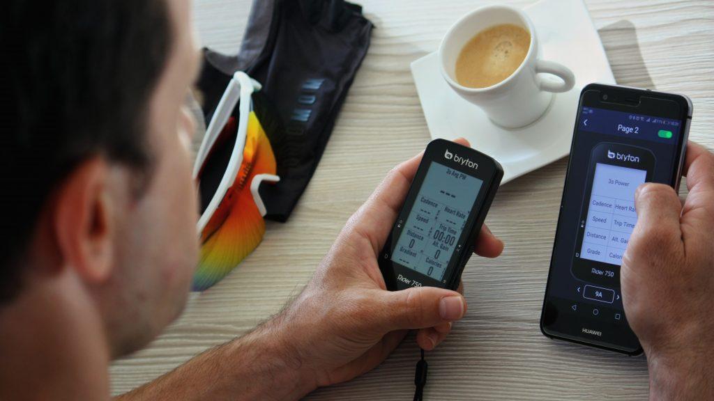 Bryton GPS cycling computer